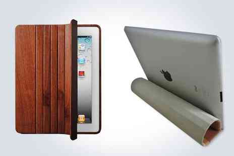 Geneewenee - Keep your iPad safe and stylish with a wooden smart case - Save 50%