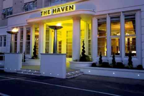 The Haven Hotel - In Dorset One Nights For Two With Breakfast Wine and Spa Access - Save 42%