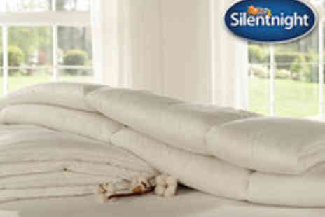 Branded Bedding - Silentnight Deep Sleep Duvet in a Choice of Sizes - Save 73%