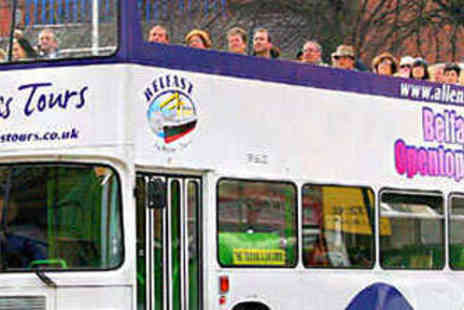Allens Tours - Hop On, Hop Off Bus Tour of Belfast for Two People - Save 50%