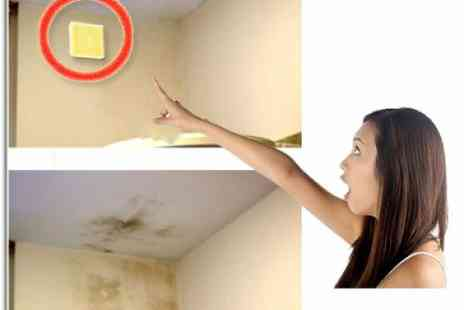 DealWizz - Useful solution to the problem of mildew and mold set of 3 stickers to prevent mildew  - Save 50%