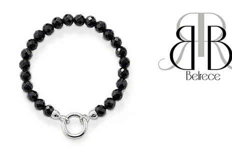 My Avarice - Unique deep black agate bracelet Sleek with a subtle design - Save 83%