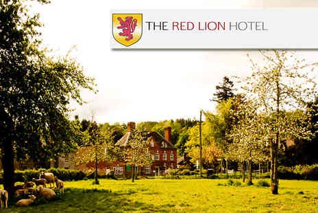 The Red Lion - Two night break for two in Bredwardine including breakfast each morning & a 3 course meal on the first night - Save 37%