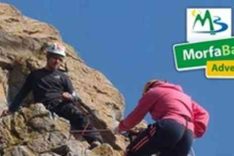 Morfa Bay Adventure - Full Day of Outdoor Activities For Two Including Archery, Mountain Biking & Climbing - Save 61%