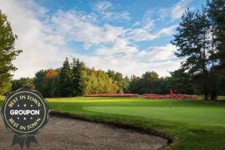 Tilgate Forest Golf Centre - Two Rounds Plus Coffee For Two - Save 70%