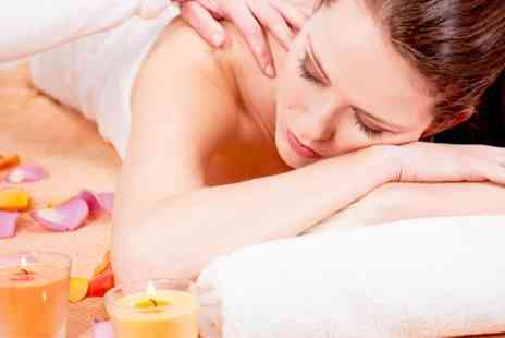 The Beauty and Therapy Shop - Full Body Massage With Facial Plus Manicure or Pedicure - Save 73%