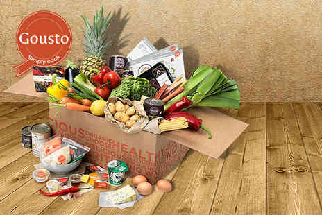 Gousto - One week Gousto subscription including 3 chef designed meals for 2 people - Save 36%