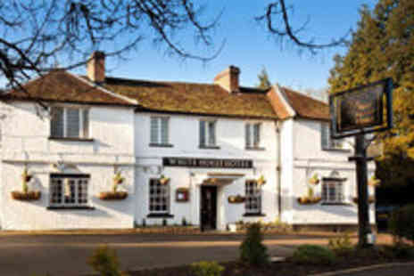 The White Horse Hotel - Hertfordshire Escape for Two with Three Course Dinner and Prosecco - Save 45%