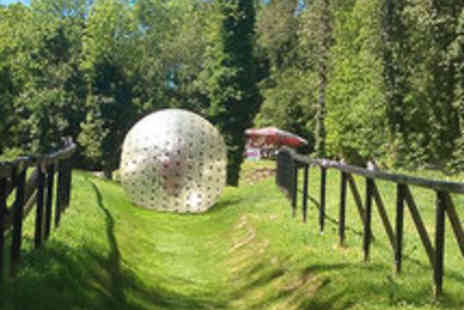Pod London - Zorbing Experience and DVD for Two People - Save 54%