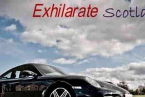 Exhilarate Scotland - Supercar Driving Experience in The Highlands - Save 76%