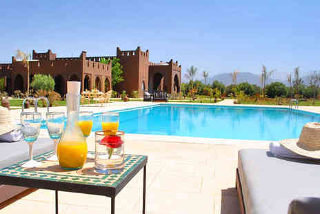 Kasbah Igoudar - Views of The Atlas Mountains from a Luxury Riad - Save 55%