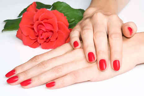 Mirror On The Wall - Luxury Manicure or Pedicure with Gel Polish - Save 74%