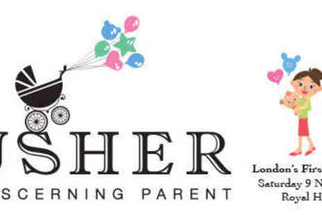 Plusher - One Ticket to Plusher Luxury Family and Baby Show - Save 57%