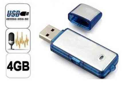 DealWizz - Call Recorder hidden inside a USB flash disk 2 uses a single device - Save 50%