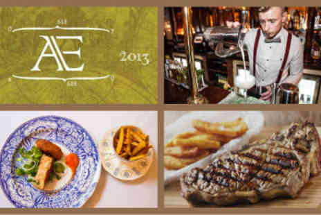 Aether & Echo - Two Main Courses including Steaks and Cocktails  - Save 53%