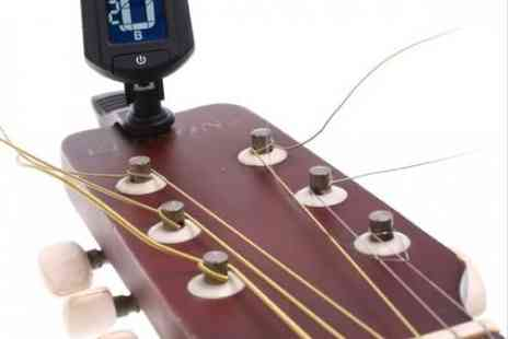 DealWizz - Digital tuner with clip wears on the barrel of the guitar will give you the concentration required - Save 50%