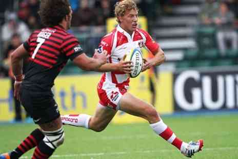 Gloucester Rugby - Gloucester v Newcastle LV Cup Rugby Tickets - Save 50%