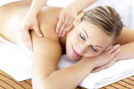 Just Relax Therapies - Pamper package including a 30 min massage and gel mani pedi - Save 63%