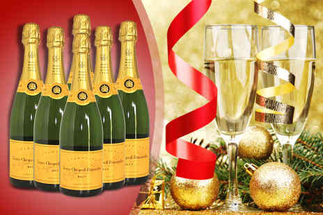 Empire Trading - Six bottles of Veuve Clicquot - Save 50%