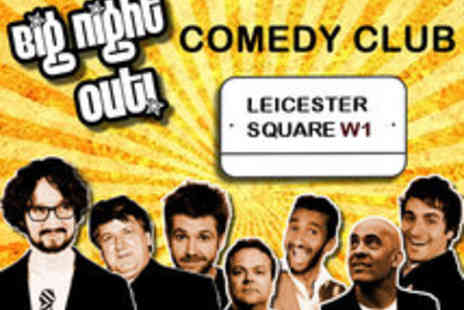 Big Night Out Comedy Club - VIP Comedy Show with Drinks and Dining Option - Save 70%