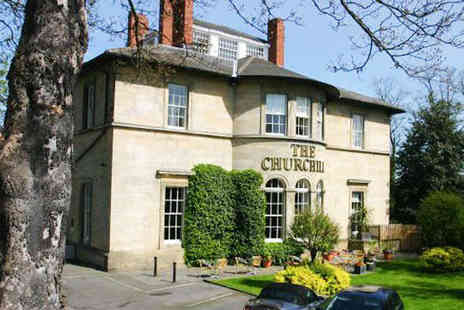 The Churchill - Overnight Stay for Two People with Breakfast or Two Night Stay for Two with Three Course Dinner and Breakfast - Save 53%
