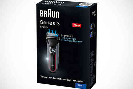 Duracell Direct - Braun 380S 4 Mens Shaver - Save 41%