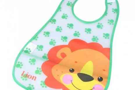 DealWizz - Toddlers Baby Bib in Many Colours and Cute Animals Drawings! - Save 50%