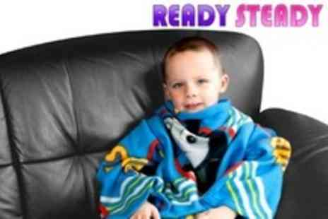 Ready Steady Bed - One Kids Cartoon Snuggle Wraps - Save 53%