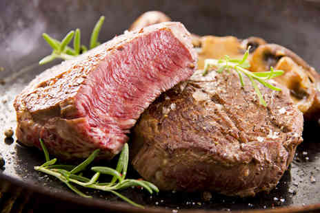 Zenny's - 10z sirloin steak meal including glass of wine and coffee - Save 63%