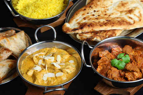 Gate of India Restaurant - Two Course Indian Meal for Two - Save 61%