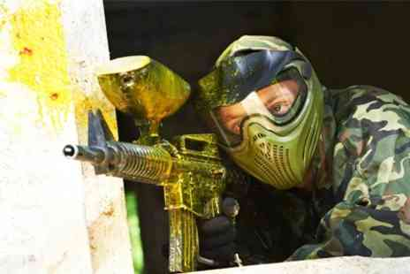 Commando Elite Paintball - Paintball Experience With Lunch - Save 83%