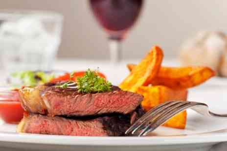 The Cross Hands of Alveston - Seafood Platter or Steak With Wine For Two - Save 54%