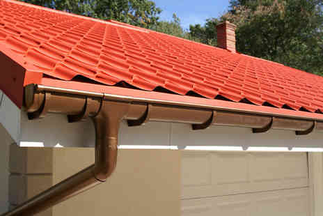 Gutter Clear Plus - Gutter check & full cleaning service - Save 64%