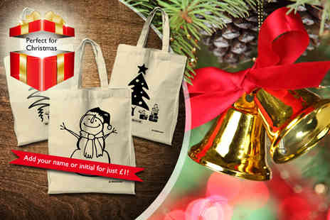 JP Classics - Christmas tote bag in a choice of designs - Save 45%