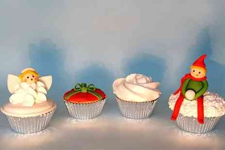 The Hampstead Cake Company - Christmas Cupcake Decorating Class - Save 59%
