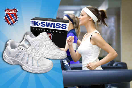 Shuperb Footwear - Pair of ladies K Swiss Temion II gym trainers - Save 52%