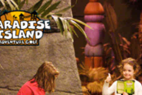 Paradise Island Adventure Golf - Two Rounds of Adventure Golf - Save 64%