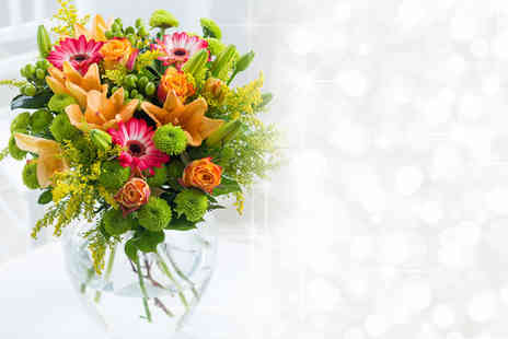 Flowers Direct - Bouquet of flowers from 5 stunning choices - Save 50%