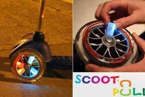 Scoot n Pull - Must Have Scooter Accessory Scoot Starz Multi Pack of 5 Lights - Save 50%