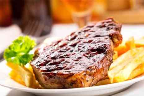 The Plough Inn - Steak Dinner With Desserts For Two - Save 50%