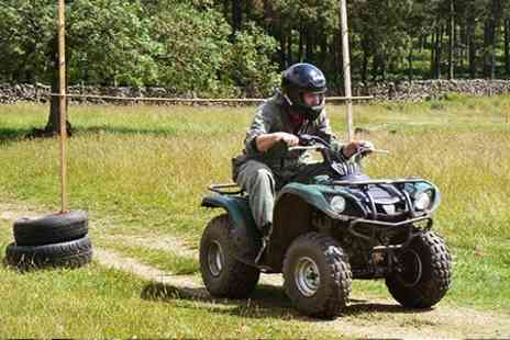 Adrenalin North Yorkshire - Quad Bike and Paintball Experience - Save 52%