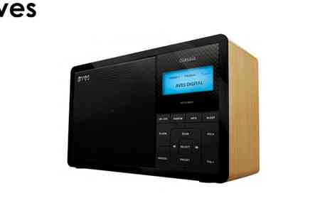 WAM Europe - Aves DAB Plus Digital Radio - Save 50%