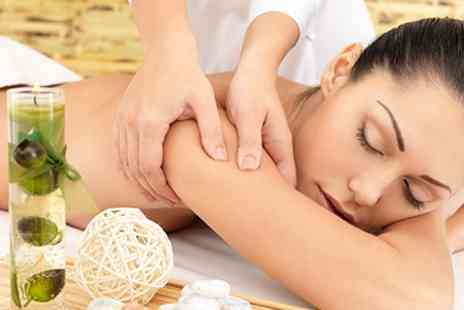 mysalonlooks spa - Dermalogica Facial Plus Aromatherapy or Deep Tissue Massage - Save 55%