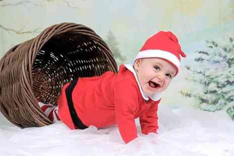 Dave Williams Photography - Little Santa Photoshoot Plus Photo Christmas Cards  - Save 83%