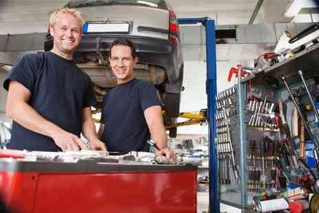Cromptons Automotive - Full service with oil and filter change and diagnostic check - Save 77%