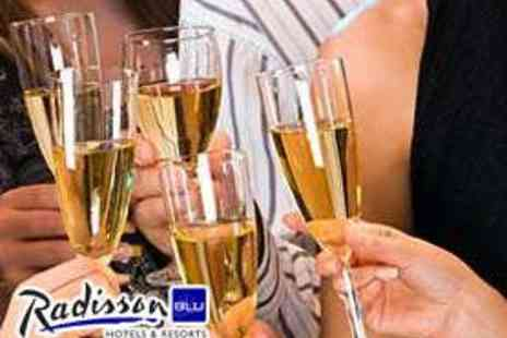 Radisson Blu - Christmas Party with Bubbly and Three Course Meal - Save 52%