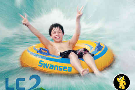 LC Waterpark - Four Waterpark Passes - Save 50%