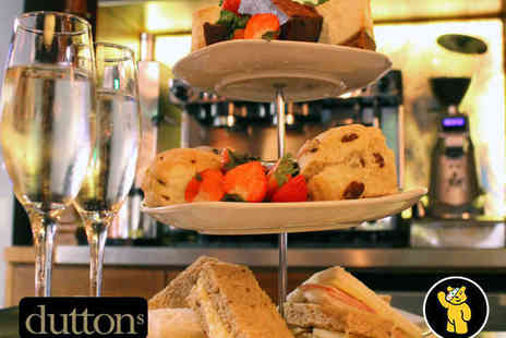 Duttons - Afternoon Tea for Two - Save 41%