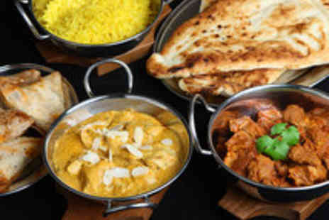 Jasmine Kitchen - Traditional Indian Meal for Two with Wine or Beer - Save 51%