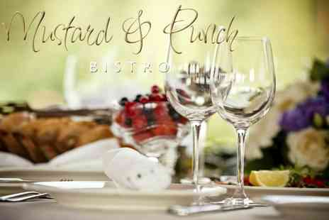 Mustard and Punch - Six course tasting platter for 2 with wine - Save 55%